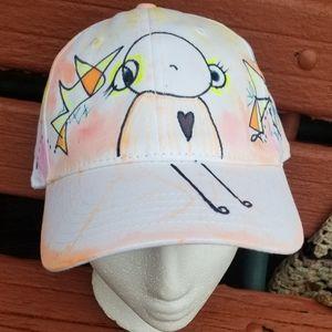 Original Art Custom Handmade ArtWear Hat